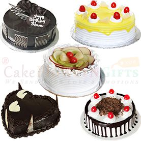 100% Pure Veg Eggless Cake online Home delivery in Jamshedpur