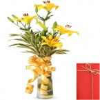 send vase of lilies delivery