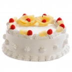 send Pineapple Cake Half Kg Any Occasion delivery