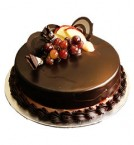 send Half Kg Yummy Chocolate Truffle Cake delivery