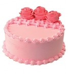 send 2Kg Eggless Strawberry Cake delivery