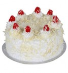 send 2Kg Eggless White Forest cake delivery
