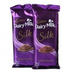 send 2 dairy milk silk chocolate delivery