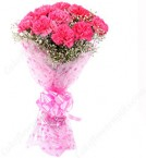 send 10 Pink Carnations Bouquets delivery