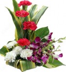 send Designer Orchid Flower Bouquet delivery