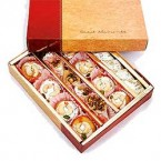 send gift box of 1000 gms Assorted Kaju Sweets delivery