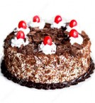 send Yammy Black forest Eggless Cake delivery