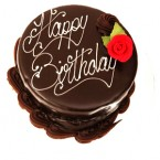send 1 Kg Chocolate Truffle Eggless Cake  delivery