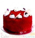 send Order500gms Red Velvet Cake Delivery