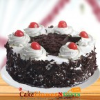 send 1Kg Black Forest Fresh Cream Cake delivery