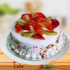 send Half kg Fruit Fresh Cake delivery