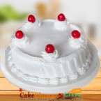 send OrderVanilla Cake Half Kg Any Occasion Delivery