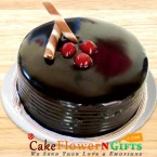 send 2Kg Chocolate Truffle Cake delivery