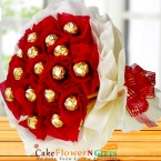 send ferrero rocher chocolate bouquet delivery