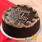 send half kg eggless chocolate fresh cream cake delivery