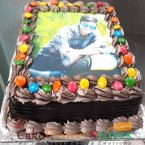 send 1kg chocolate truffle games photo cake delivery