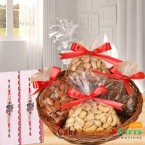send dry fruits and rakhi gifts delivery