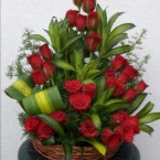 send Romantic - 25 Red Roses Bouquet delivery