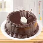 send half kg eggless chocolate truffle cake delivery