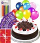 1Kg Black Forest Cake Mini n Chocolate Gifts