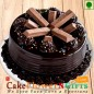 Eggless Half Kg Kit Kat Chocolate Cake