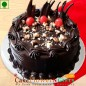 half kg walnut Eggless chocolate cake