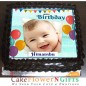1 kg birthday chocolate photo cake