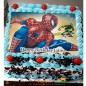 1kg spider man photo cake