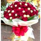40 Red Roses with 32 Ferrero Rocher Bouquet