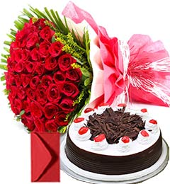 Just Flower Cake Combo Gifts