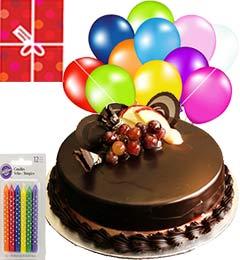 Yummy Chocolate Truffle Cake N Gifts