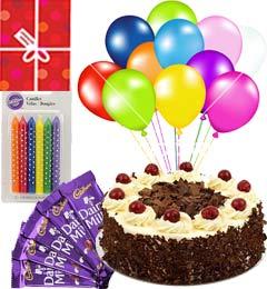 Yummy Black Forest Cake Mini n Chocolate Gifts