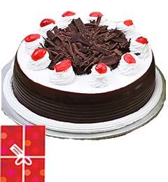 2Kg Black Forest Cake n Greeting Card