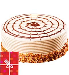 2Kg Butterscotch Cake n Greeting Card