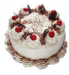 2Kg White Forest cake