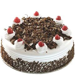 2Kg Eggless Black Forest Cake