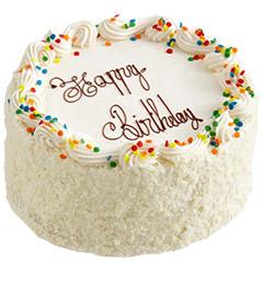 2Kg Eggless Butter Scotch Cake