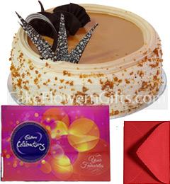 1Kg Butterscotch Cadbury Celebration Gift Box