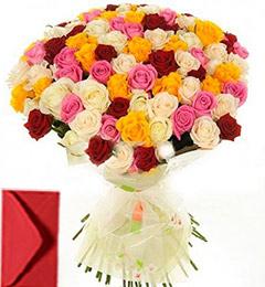 45 Roses Bouquet