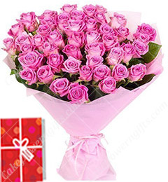 45 Mix Roses Bouquet
