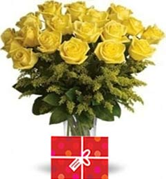 35 Yellow Roses Bouquet
