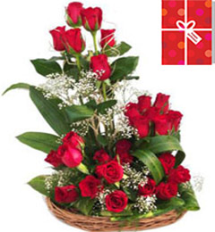 Designer Pink Roses Flower Bouquet