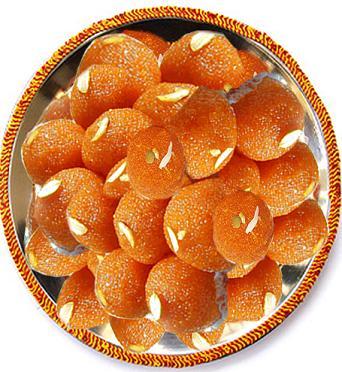 Gift of 1Kg Pure Ghee Laddu Sweet Box