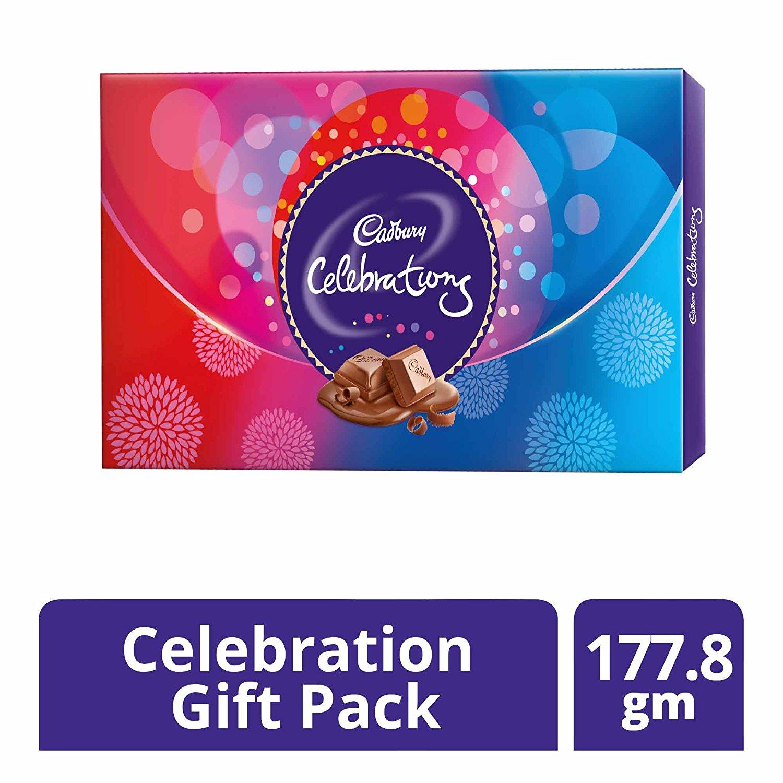 Cadbury Celebrations Gift Pack 215g Assorted Chocolates Gifts
