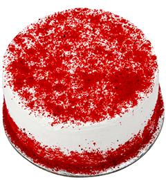 2Kg Red velvet Eggless Cake
