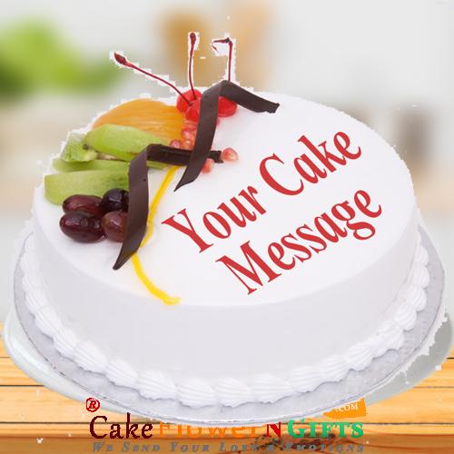 Half kg Fruit Fresh Cream Cake