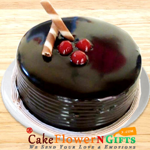 1Kg Chocolate Truffle Cake