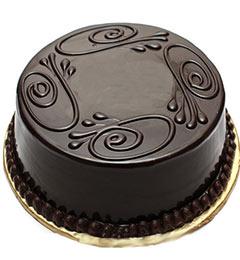 Half Kg dark chocolate cake