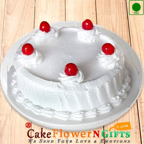 1Kg Eggless Vanilla Cake