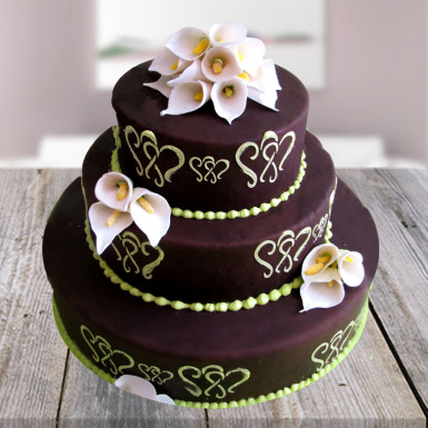 4kg Designer Chocolate Mountain Cake